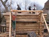 Blockhausbau 2008
