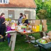 Flohmarkt beim Apfelfreundefest 2014