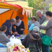 Pomologen beim Apfelfreundefest 2014
