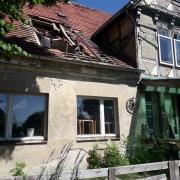 Gutshaus Dach-Baustelle 2020