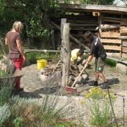 Sommerbaustelle 2009